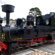 Little steam engine - Stock Photo