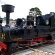 Little steam engine — Stock Photo