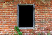 Empty window — Stock Photo