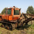 Old tractor — Stock Photo #13500627