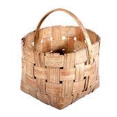 Old wicker basket. — Stock Photo