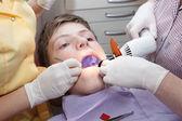 Dental treatment — Stock Photo