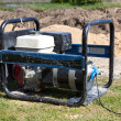 Gasoline Powered Portable Generator — Stock Photo #14210133