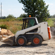 Mini excavator — Stock Photo #15563733