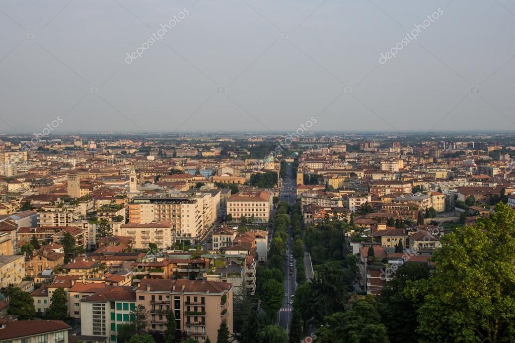 Bergamo Italy Pictures Bergamo Italy The City From
