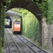 Bergamo, Italy  funicular railways — Stock Photo