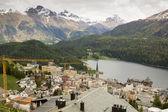 St. Moritz , Switzerland. — Stock Photo