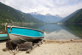 Lago di Poschiavo Switzerland — Stock Photo
