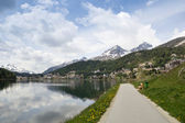 St.moritz, switzeland — Stock Photo