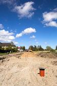 Budowa nowych stree — Zdjęcie stockowe