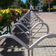 Royalty-Free Stock Photo: Cycle parking area