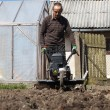 Spring gardening - Stok fotoraf