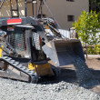 Small excavator working — Stock Photo