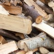 Chopped firewood — Stock Photo
