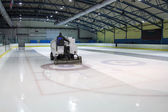 Ice skating rink — Stock Photo