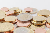 Latvia EURO coins — Stock Photo