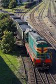 Coal transport — Stock Photo