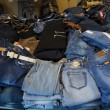 Heap of jeans — Stock Photo #45671067