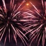 Firework at night — Stock Photo