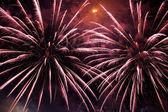 Fuoco d'artificio di notte — Foto Stock