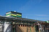 Biofuel factory — Stock Photo