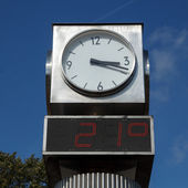Town clock — Stock Photo