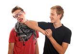 Teen bullying — Stock Photo