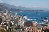 Monaco, Le Rocher — Foto Stock