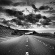 The road ahead — Stock fotografie