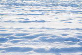 Snow on field — Stock Photo