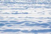 Schnee auf feld — Stockfoto