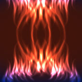 Abstract fire background — Vetorial Stock