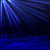 Abstrakt blå bakgrund — Stockvektor