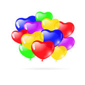 Beautiful party balloons — Vettoriale Stock