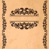 Vintage background — Vecteur