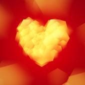 Valentinstag oder hochzeit hintergrund. — Stockvektor