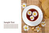 Herbal chamomile tea — Stock Photo