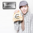 European Sovereign Debt Crisis Or Eurozone Crisis - Stock Photo