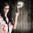 Royalty-Free Stock Photo: Murder mystery who done it