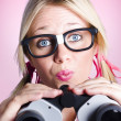 Lost businesswoman searching for solution — Stockfoto