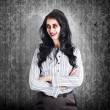 Portrait of a confident dead businesswoman - Foto de Stock  