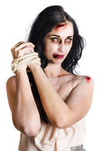 Zombie tied up — Stock Photo