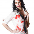 Dead sexy businesswoman - Stockfoto