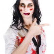 Zombie WomPointing — Stock Photo #24081253