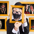 Art of Halloween horror - Stock Photo