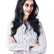 Zombie businesswoman — Stock Photo