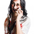 Stock Photo: Zombie womdistressed