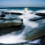 paisagem da costa australiana — Foto Stock