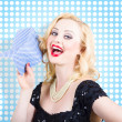 Woman cleaner maid — Stock Photo
