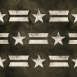 Stock Photo: Military stars background. Pride power strength